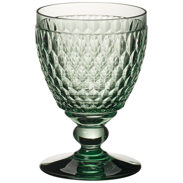 Villeroy and Boch Boston Green Water Glass 14.4cm