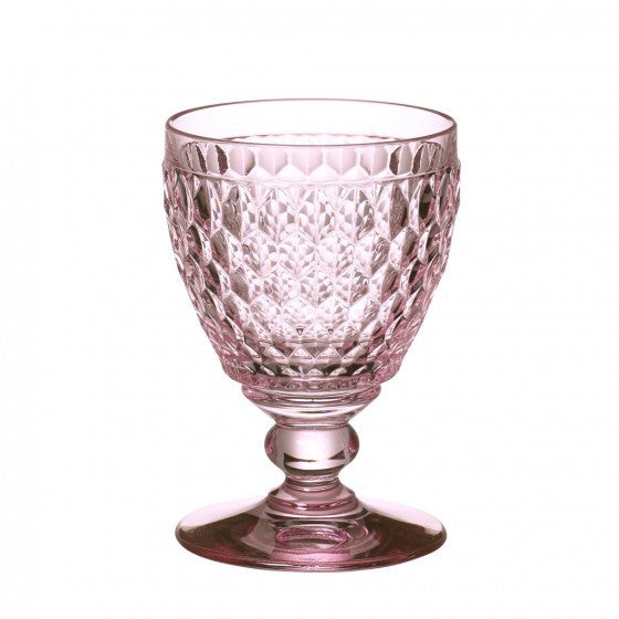 Villeroy and Boch Boston Coloured Rose Water Goblet 0.40L