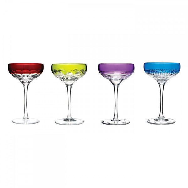 Waterford Crystal Mixology Champagne Coupe (Set of 4 Colours)
