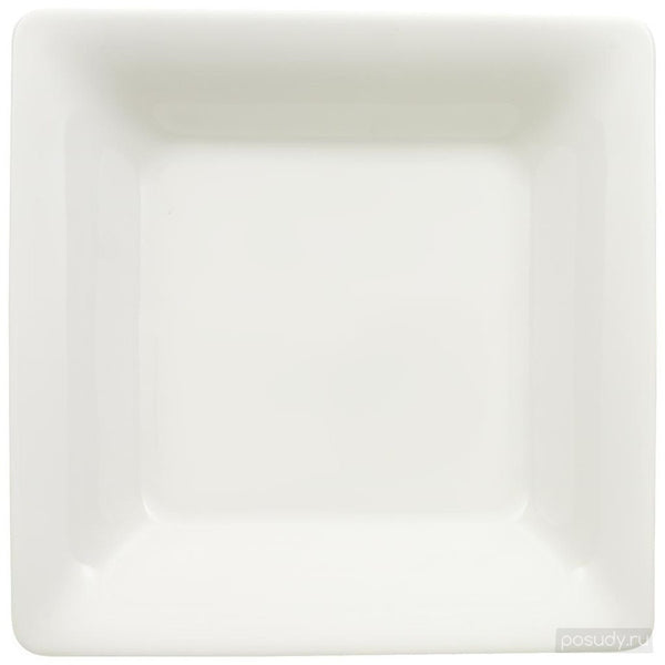 Villeroy and Boch Pi Carre Deep Square Plate 22cm By 22cm