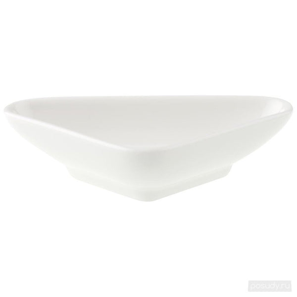 Villeroy and Boch Pi Carre Triangular Bowl 11cm By 7cm
