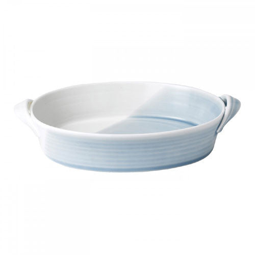 Royal Doulton 1815 Blue Oval Pie Dish 29cm by 20cm