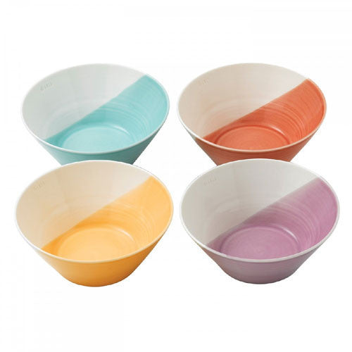 Royal Doulton 1815 Brights Set of 4 Noodle Bowls 21cm