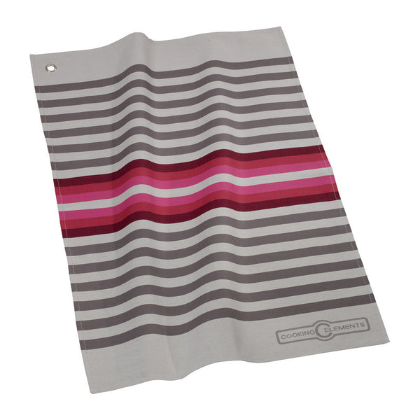 Villeroy and Boch Cooking Elements Fuchsia Tea Towel 50cm by 70cm