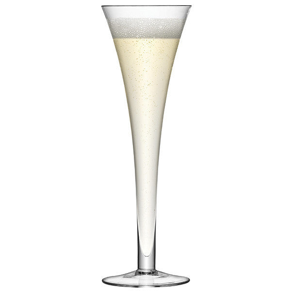 LSA Bar Clear Champagne Flute Pair 200ml