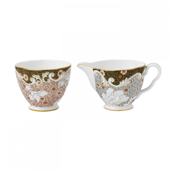 Wedgwood Daisy Tea Story Sugar Bowl and Creamer