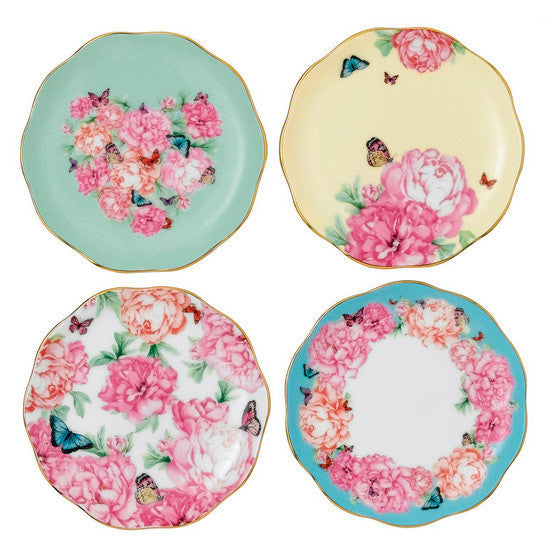 Royal Albert Miranda Kerr Tidbit Tea Plates 10cm (Set of 4)