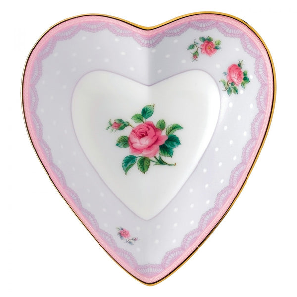 Royal Albert Candy Collection Love Lilac Heart Tray 13cm