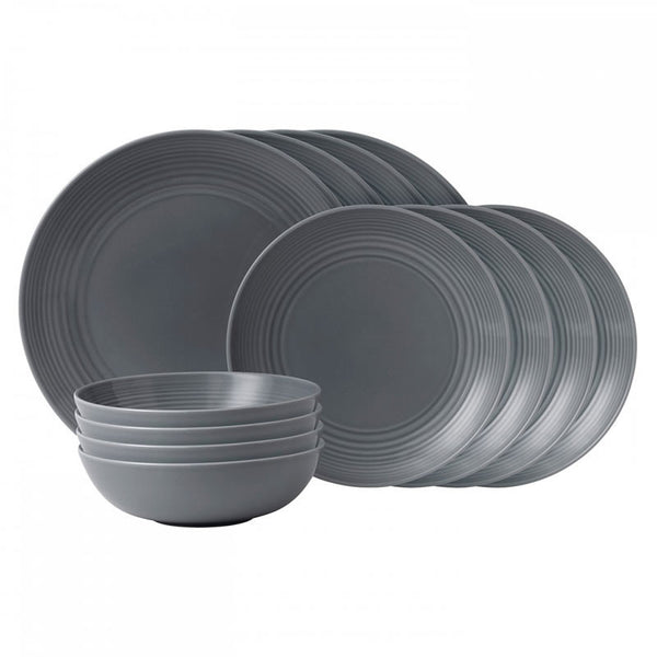 Royal Doulton Gordon Ramsay Maze Grey 12 Piece Set