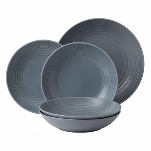 Royal Doulton Gordon Ramsay Maze Grey 5 Piece Pasta Set