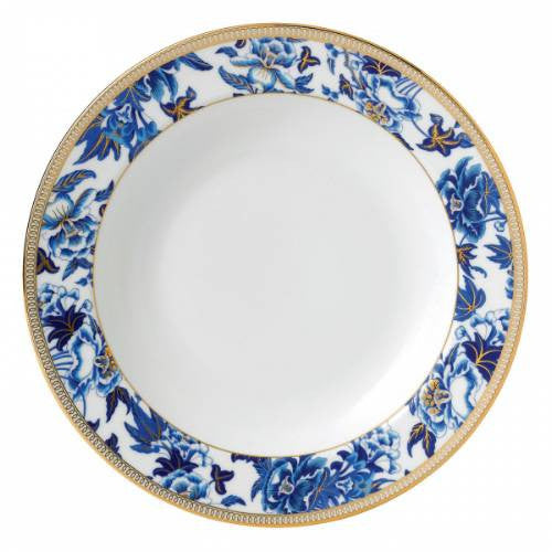 Wedgwood Hibiscus Blue Soup Plate 23cm