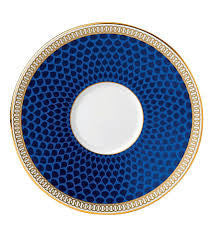 Wedgwood Hibiscus Blue Espresso Cup Saucer (Saucer Only)