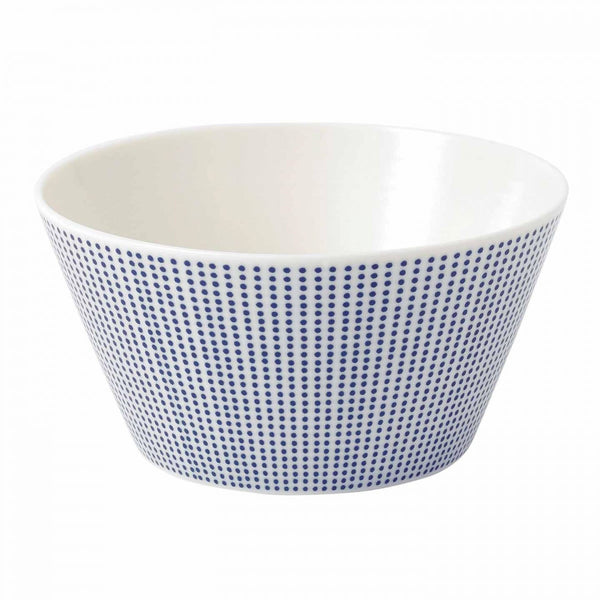 Royal Doulton Pacific Blue Dots Cereal Bowl