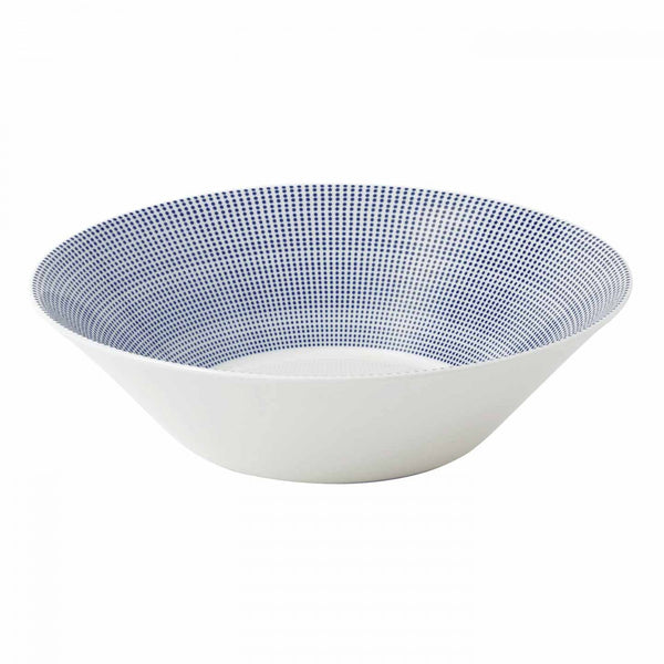 Royal Doulton Pacific Blue Dots Serving Bowl 29cm