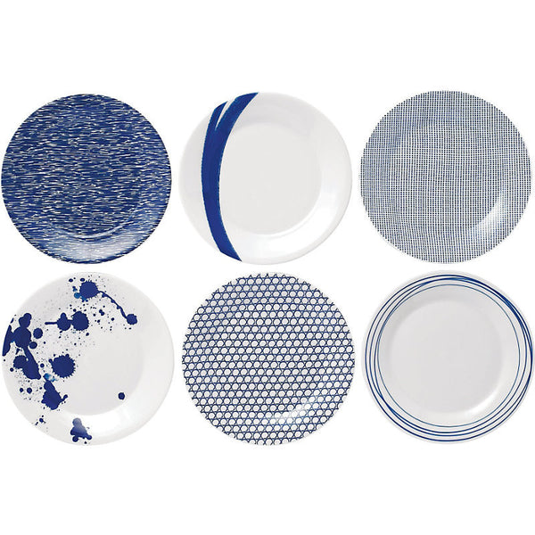 Royal Doulton Pacific Blue Salad Plate 23cm (Set of 6)