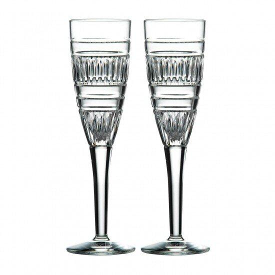 Royal Doulton Radial Champagne Flute 140ml (Pair)