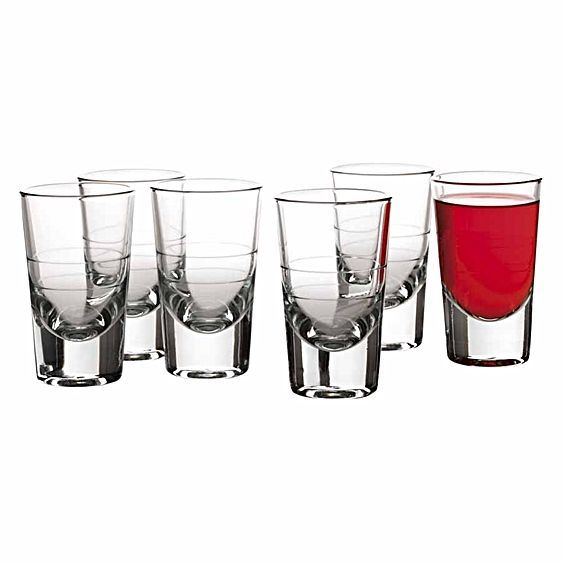 Maxwell and Williams Bar Boston Shot Glasses 0.04L (Set of 6)