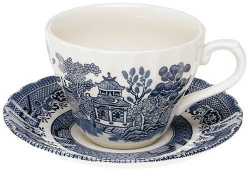 Churchill China Blue Willow Teacup 0.20L (Cup Only)