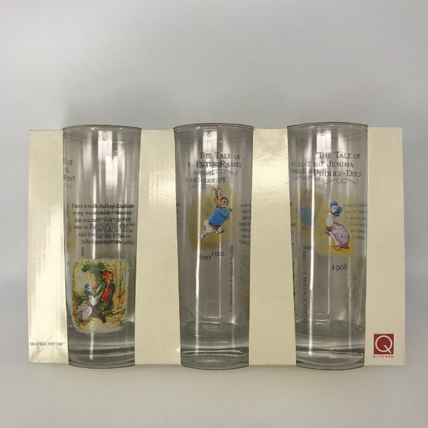 Churchill China Queens Beatrix Potter Collection Tumblers (Set of 3)
