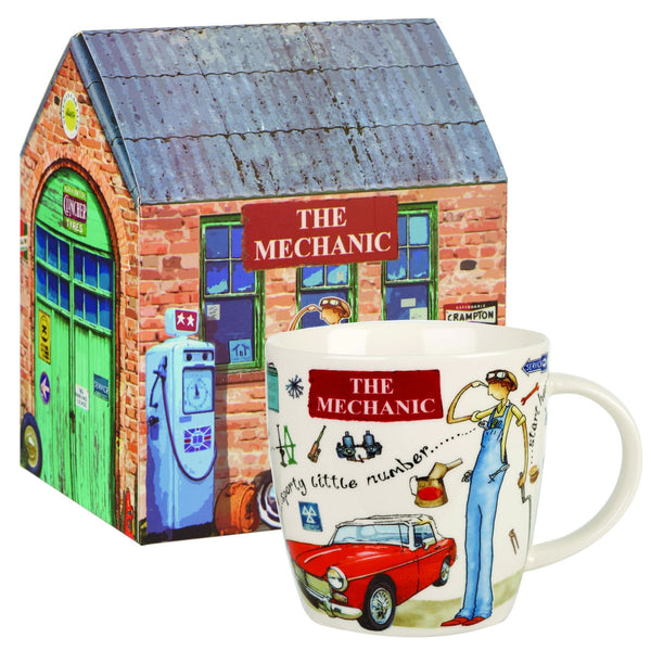 Churchill China At Your Leisure The Mechanic Mug 0.39L