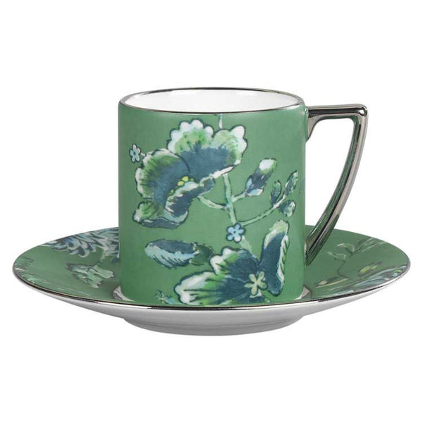 Wedgwood Jasper Conran Chinoiserie Green Espresso Cup 0.075L (Cup Only)