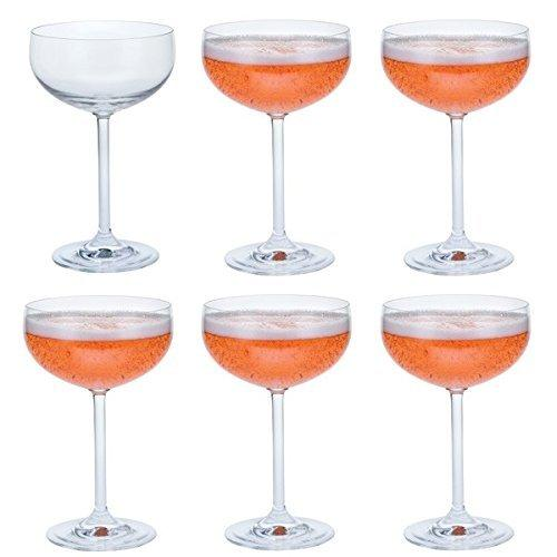 Dartington Crystal Party Pack Champagne Saucer (6 Pack)