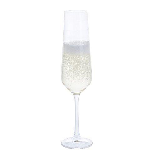 Dartington Crystal Cheers Flute (4 Pack)
