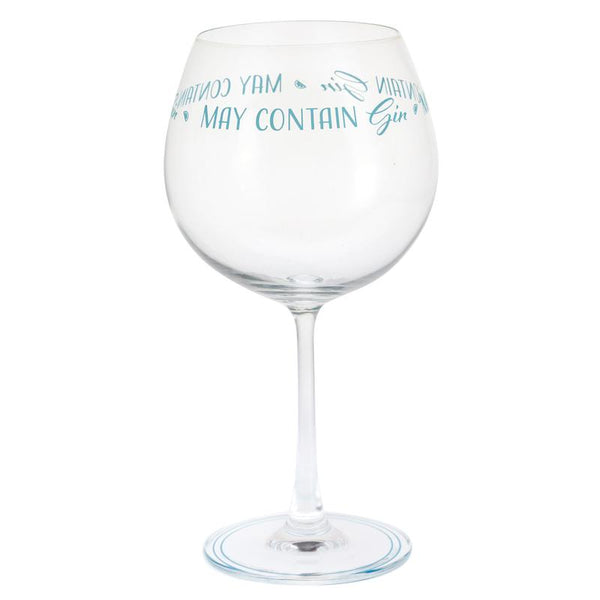 Dartington Crystal Gin Time May Contain Gin Copa Glass 22.1cm / 0.64L