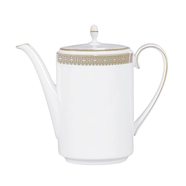 Wedgwood Vera Wang Lace Gold Coffeepot 0.75L