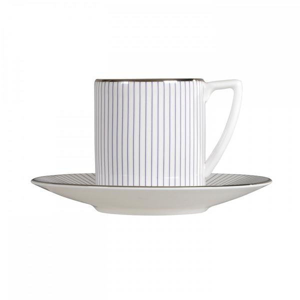 Wedgwood Jasper Conran Pinstripe Espresso Cup Saucer (Saucer Only)