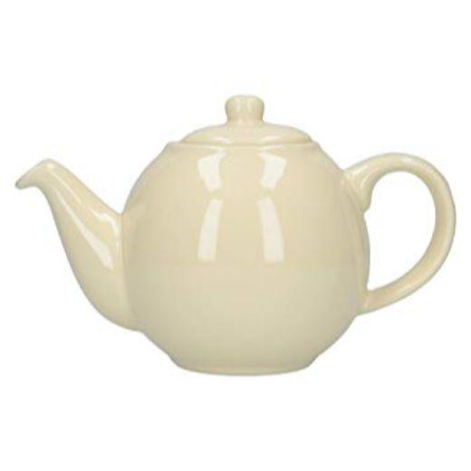 London Pottery Globe 2 Cup Ivory Teapot