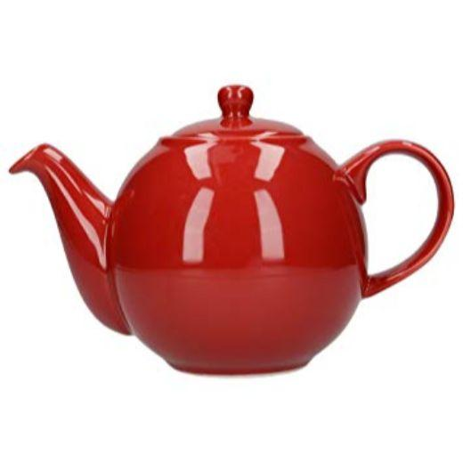 London Pottery Globe 4 Cup Red Teapot