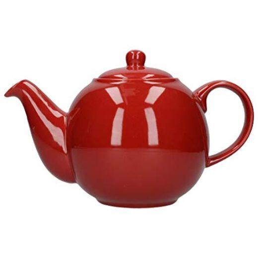 London Pottery Globe 6 Cup Red Teapot