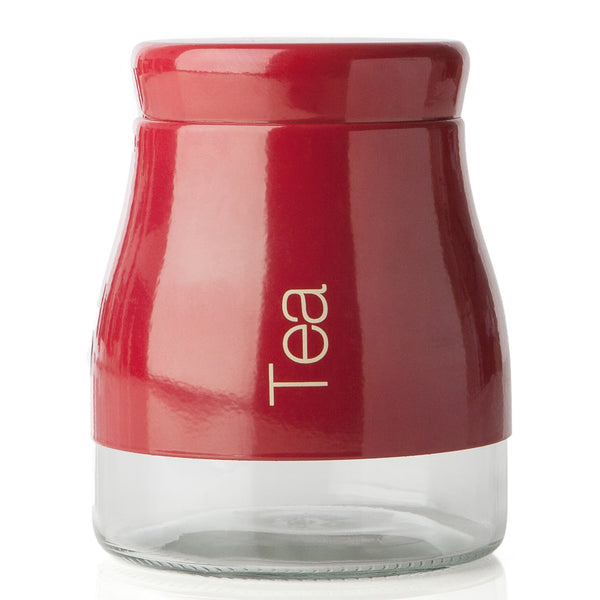 Sabichi Kitchen Red Tea Canister