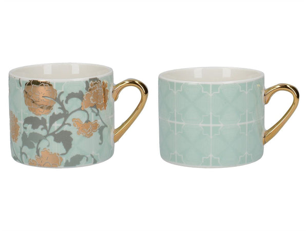 Creative Tops Victoria and Albert Decadence Espresso Mug 150ml (Set of 2)