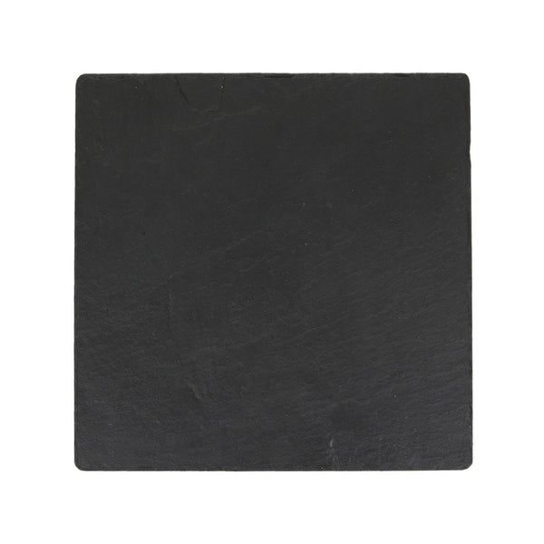 Just Slate Square Tablemats 25cm by 25cm (Set Of 2)