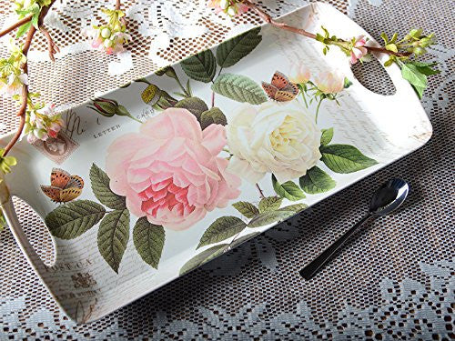 Creative Tops Rose Garden Luxury Handled Small Tray