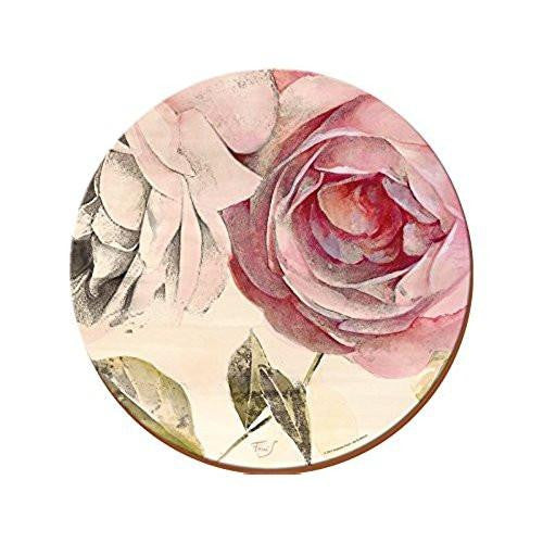 Antique Rose Round Placemats 29cm (Set of 4)