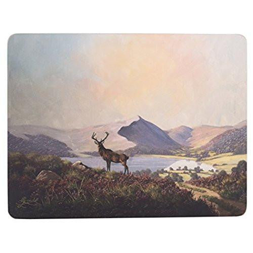 Creative Tops Highland Stag Placemats 30cm by 22.8cm (Set of 6)