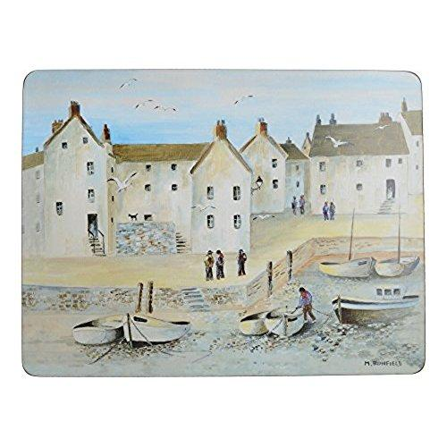 Cornish Harbour Premium Placemat (Set Of 6)