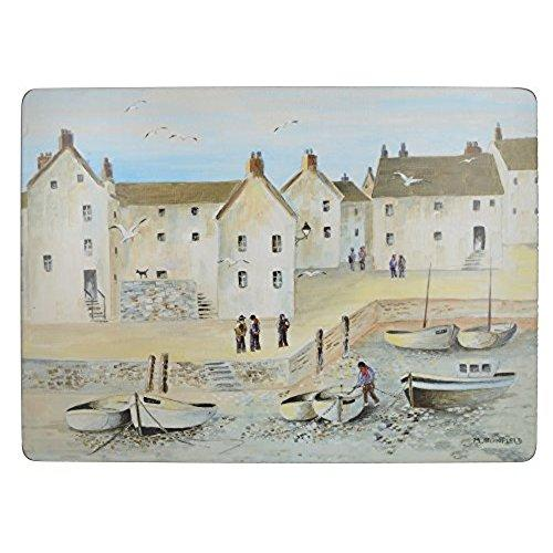 Cornish Harbour Premium Large Placemat (Set Of 4)