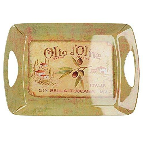 Olio D'Oliva Luxury Large Handled Tray
