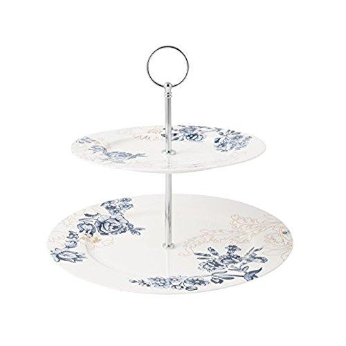 Victoria And Albert Palmers Silk 2 Tier Cake Stand