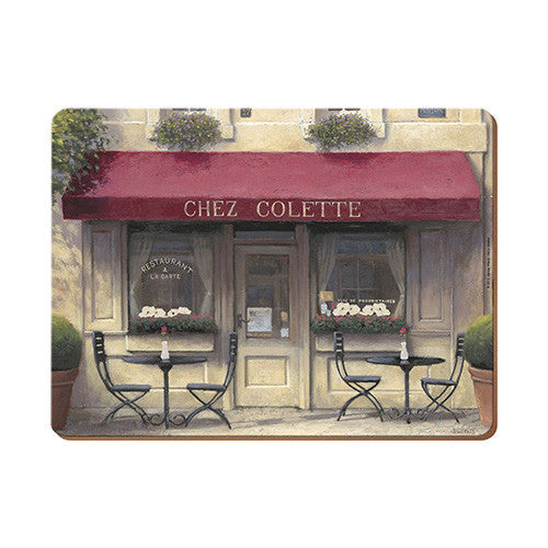 Creative Tops Chez Colette Premium Placemats 29cm by 21.5cm (Set of 6)