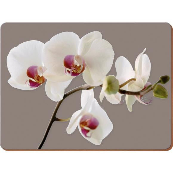 Creative Tops Orchid Harmony Premium Large Placemats (Set of 4)