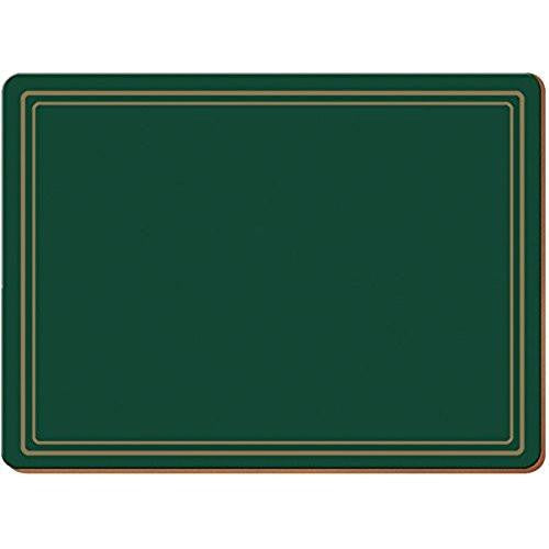 Creative Tops Classic Green Large Placemats 40cm by 29cm (Set of 4)