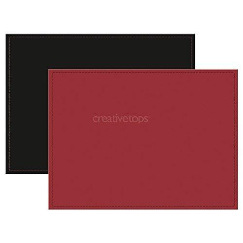 Creative Tops Reversible Faux Leather Large Placemat 40cm by 29cm