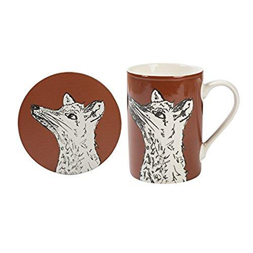 Into The Wild Fox Mug And Coaster Gift Set