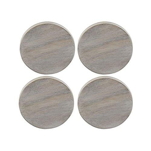 Creative Tops Naturals White Wash Coaster (Set of 4)