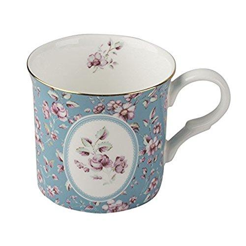 Katie Alice Ditsy Floral Fine Bone China Teal Palace Mug